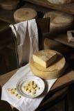Cheese shapes Royalty Free Stock Photos