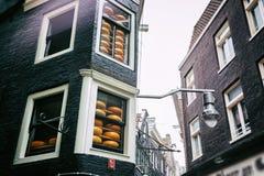Cheese shop in Amsterdam Stock Photos
