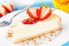 Cheese shortcake Royalty Free Stock Image