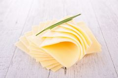 Cheese slice Royalty Free Stock Image