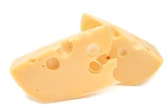 Cheese slices Royalty Free Stock Photo