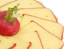 Cheese slices Stock Photography