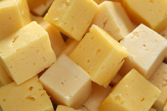 Cheese Slices. Full frame. Close-up Royalty Free Stock Images