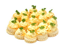 Cheese snack Stock Images