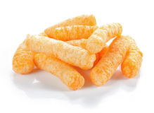 Cheese snack Stock Photography