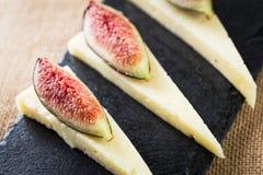 Cheese snack Stock Photo