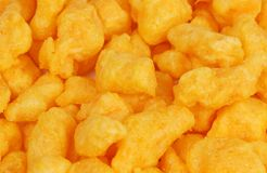 Cheese snacks Stock Photography