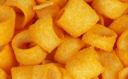 Cheese snacks Royalty Free Stock Images