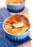 Cheese souffle Stock Image