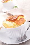 Cheese souffle Royalty Free Stock Images