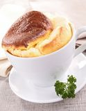 Cheese souffle Stock Photo