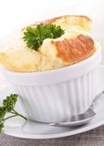 Cheese souffle Stock Photography