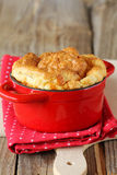 Cheese souffle Royalty Free Stock Image
