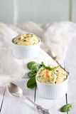 Cheese souffle Stock Images