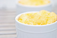 Cheese Souffles Royalty Free Stock Photo