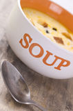 Cheese soup Royalty Free Stock Photography