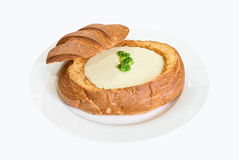 Cheese soup Royalty Free Stock Images