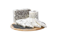 Cheese specialty with poppy seeds Royalty Free Stock Photos