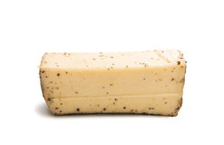 Cheese with spices  Royalty Free Stock Photography