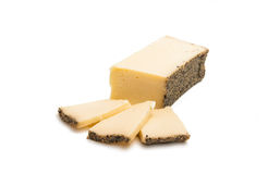 Cheese with spices  Stock Photo