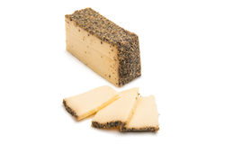 Cheese with spices  Royalty Free Stock Photo
