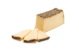 Cheese with spices  Stock Image