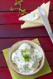 Cheese spread Stock Photos