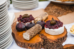Cheese spreads Royalty Free Stock Images