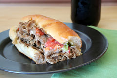 Cheese Steak Royalty Free Stock Photo