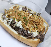 Cheese Steak Sandwich Royalty Free Stock Image