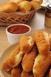 Cheese sticks Stock Photos