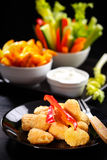 Cheese sticks Royalty Free Stock Photography