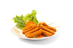 Cheese sticks Stock Photography