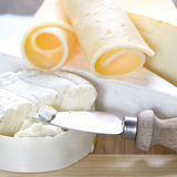 Cheese still life Royalty Free Stock Photos
