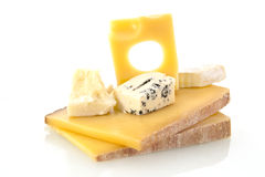 Cheese still life. Royalty Free Stock Photos