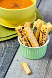 Cheese straws Royalty Free Stock Image
