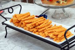 Cheese Straws Royalty Free Stock Photos