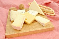 Cheese table Stock Photo