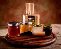 Cheese tasting set Royalty Free Stock Photography