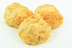 Cheese tea biscuits. Royalty Free Stock Image