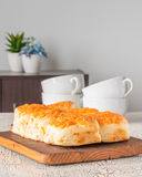Cheese Tea Biscuits Royalty Free Stock Photos