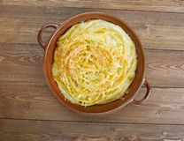 Cheese timbale Stock Photo