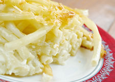 Cheese timbale Stock Images