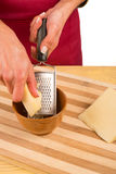 Cheese to be grated Royalty Free Stock Photo