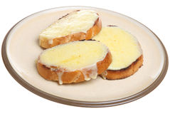 Cheese on Toast Stock Photos