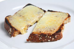 Cheese on Toast Stock Images
