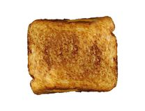 Cheese toast sandwitch isolated royalty free stock photography