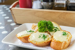 Cheese toast Stock Photos