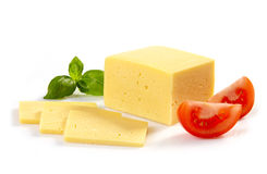 Cheese and tomato Stock Photo