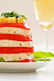 Cheese and tomato Royalty Free Stock Photography